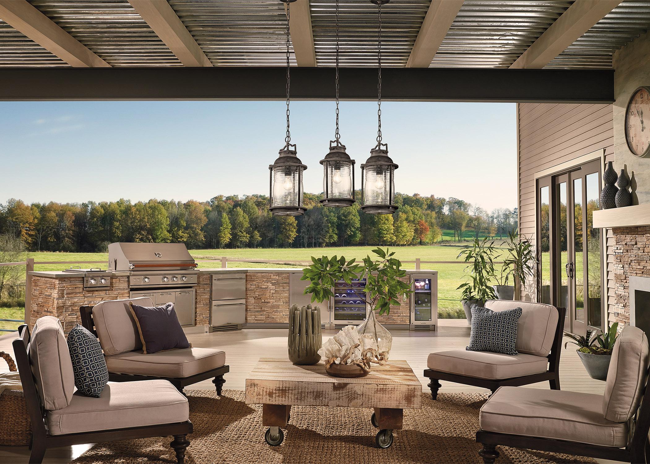 Deck With Outdoor Lighting