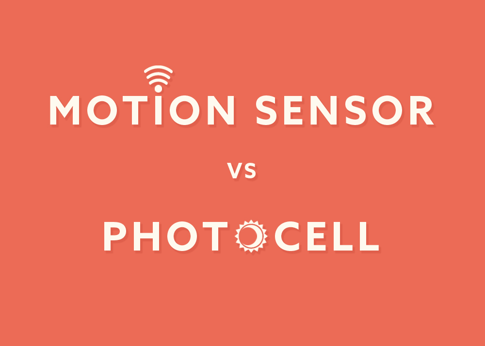 Photocells and Motion Sensors: What's the Difference? - Flip