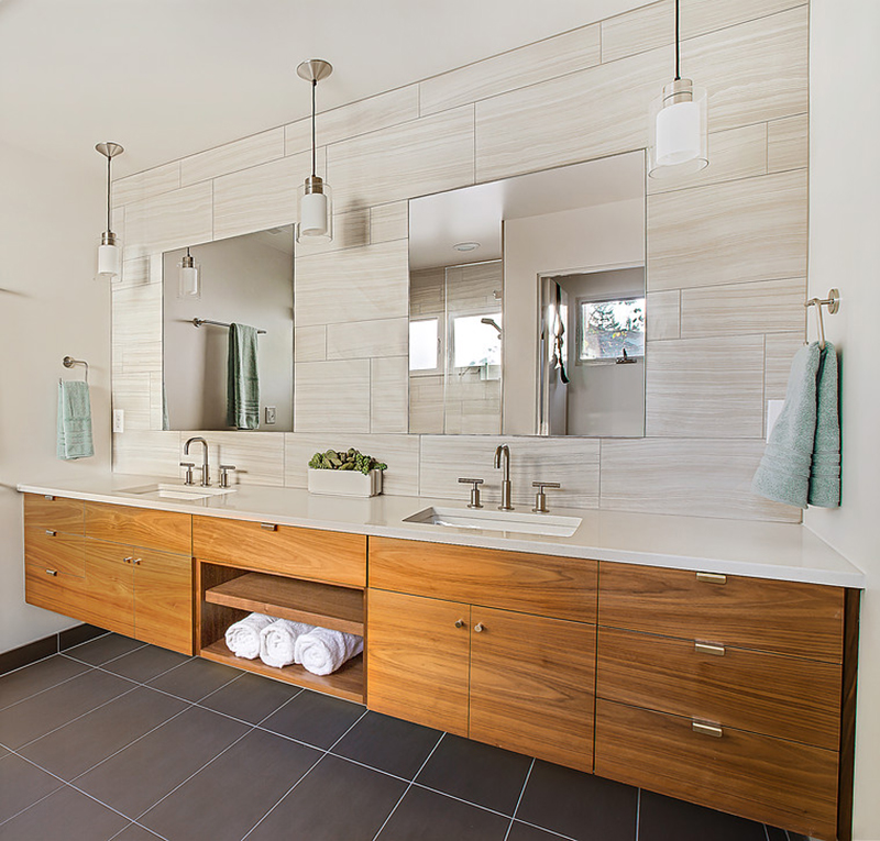 Fitzpatrick Residence Mid Century Ranch Bathroom After