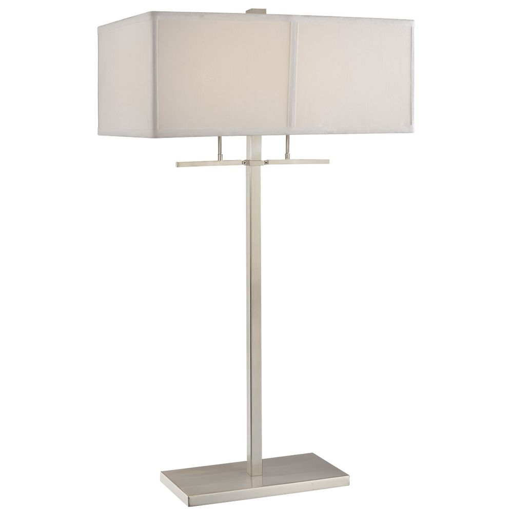 Two-Light Table Lamp with Shade By: Design Classics Lighting