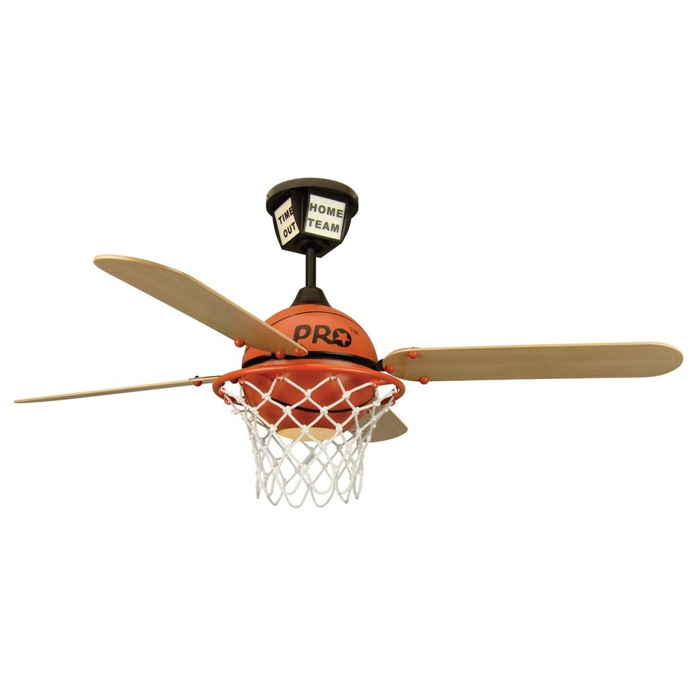 Craftmade Lighting Prostar Basketball Prostar Basketball Ceiling Fan with Light By: Craftmade Lighting