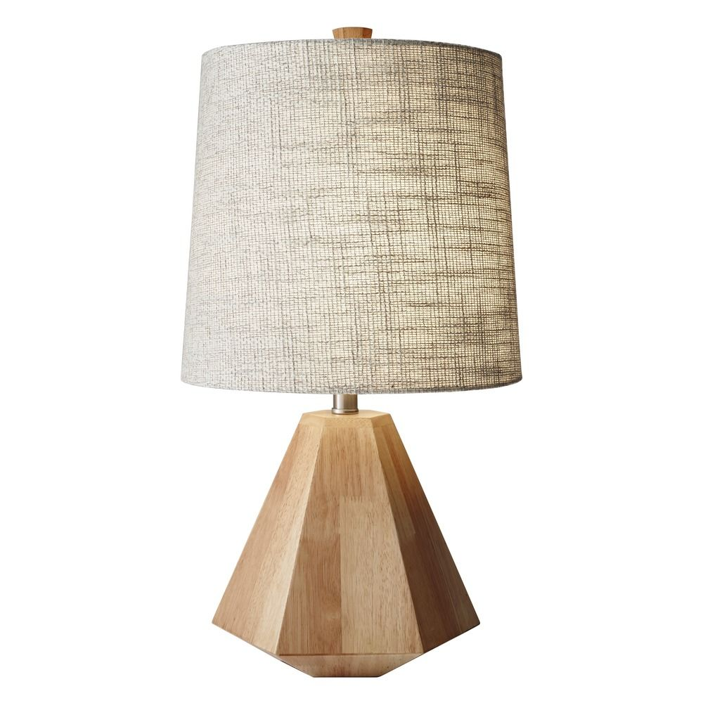 Adesso Home Grayson Natural Birch Wood Table Lamp with Cylindrical Shade By: Adesso Home Lighting