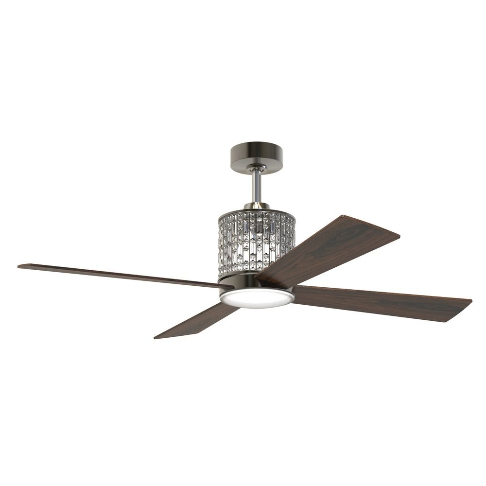 Craftmade Lighting Marissa Espresso LED Ceiling Fan with Light