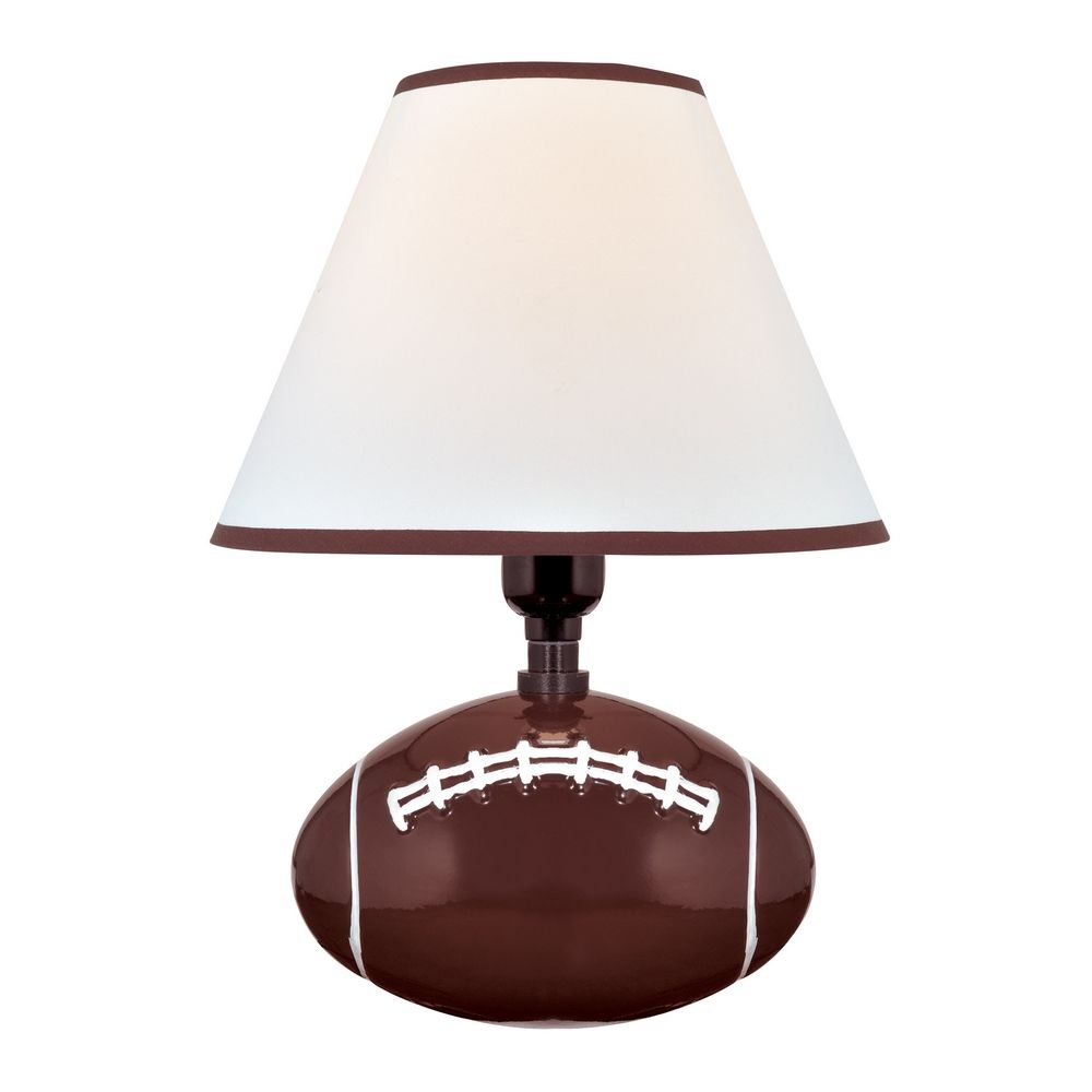"""Pass Me"" Football Table Lamp By: Lite Source Lighting"