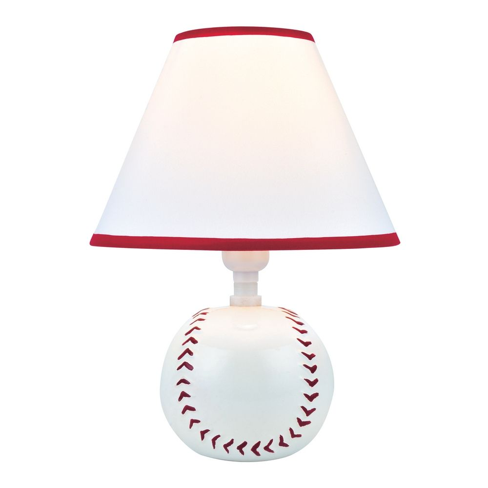"""Pitch Me"" Baseball Accent Table Lamp By: Lite Source Lighting"