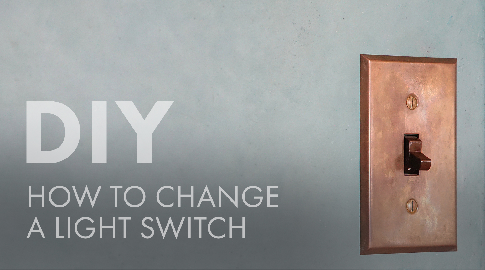 DIY: How to Change a Light Switch - Flip The Switch