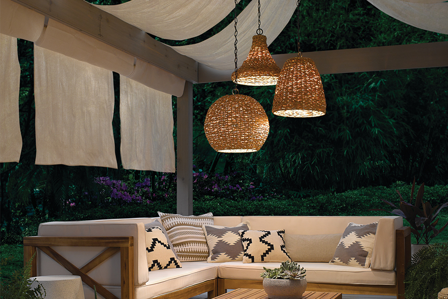 Lighting For An Outdoor Living Space Flip The Switch