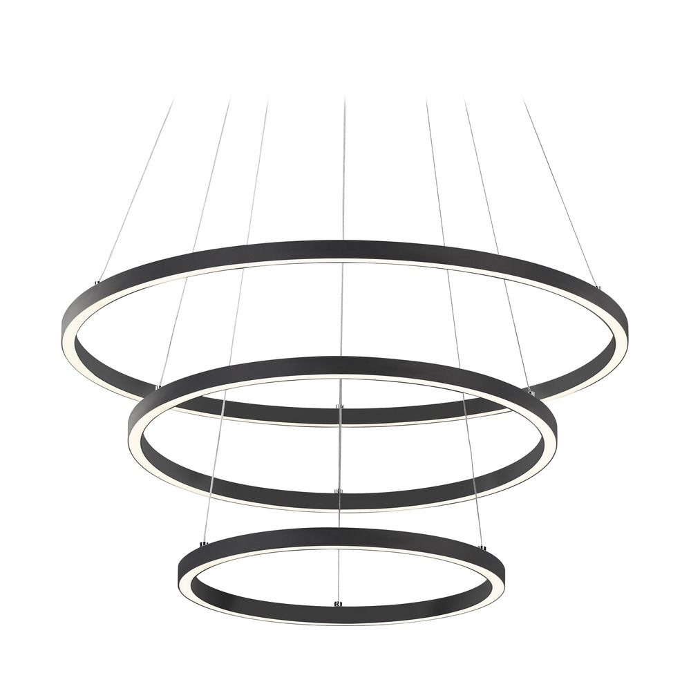 led lighting circ led ring chandelier by design classics