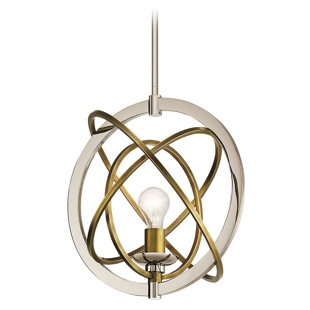 ibis by kichler lighting mixed metal finishes
