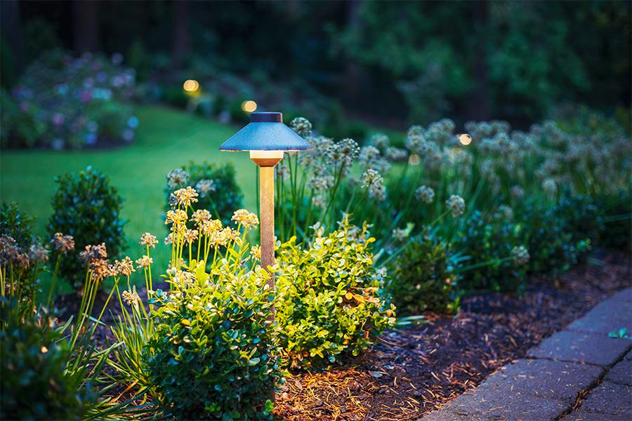 Emily Henderson Portland House | Landscape Lighting