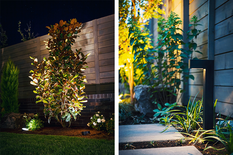 Lighting Design Farm to Table Landscape lighting