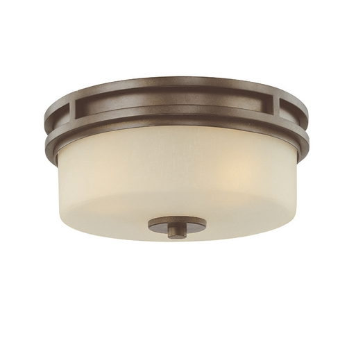 Dolan Designs Lighting Three-Light Flushmount Ceiling Light 2888-62