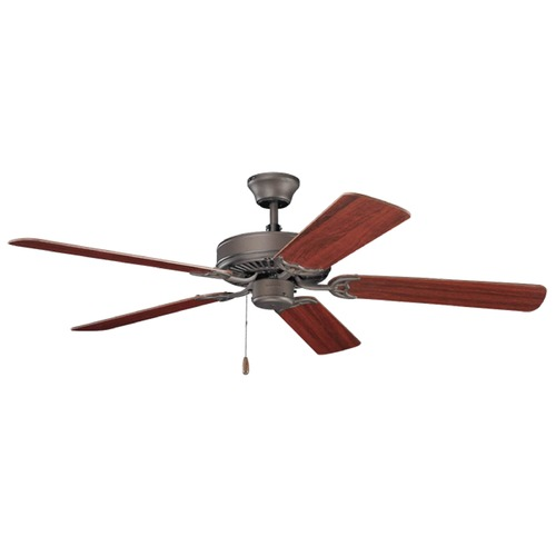 Kichler Lighting Kichler Lighting Basics Ceiling Fan Without Light 404SNB