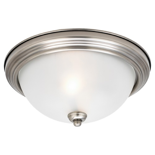 Sea Gull Lighting Sea Gull Lighting Ceiling Flush Mount Antique Brushed Nickel Flushmount Light 79565BLE-965