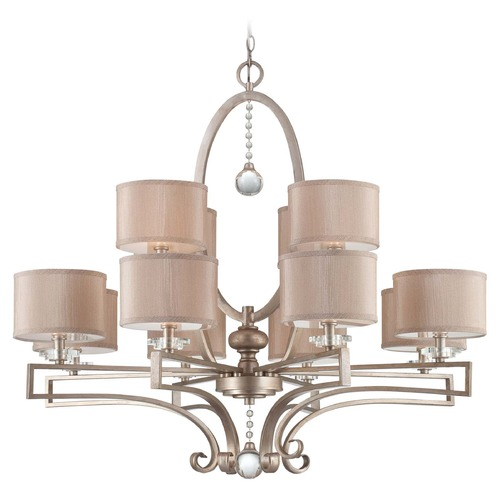 Savoy House Savoy House Silver Sparkle Crystal Chandelier 1-251-12-307