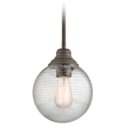 Kichler Lighting Kichler Lighting Penelope Pendant Light with Globe Shade 42324OZ