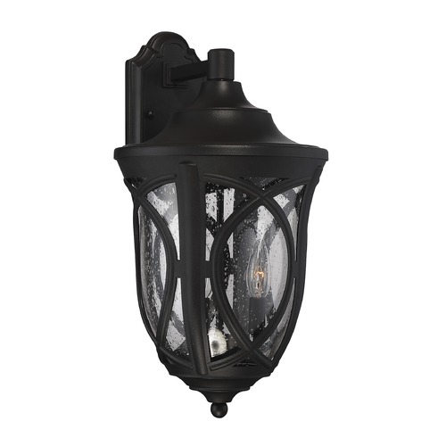 Savoy House Savoy House Lighting Highgate Black Outdoor Wall Light 5-314-BK