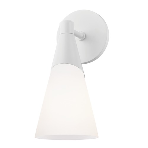 Mitzi by Hudson Valley Mitzi By Hudson Valley Mitzi Parker White Sconce H312101-WH