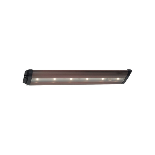 Sea Gull Lighting Sea Gull Lighting Ambiance Plated Bronze 13-Inch LED Linear Light 98601SW-787