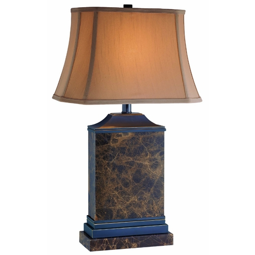 Lite Source Lighting Lite Source Lighting Table Lamp with Cut Corner Shade CF41147