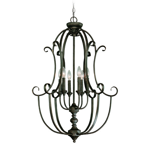 Craftmade Lighting Craftmade Barrett Place Mocha Bronze Pendant Light 24236-MB