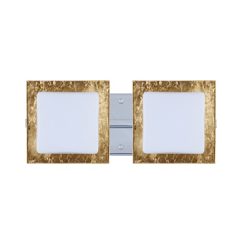 Besa Lighting Besa Lighting Alex Chrome Bathroom Light 2WS-7735GF-CR