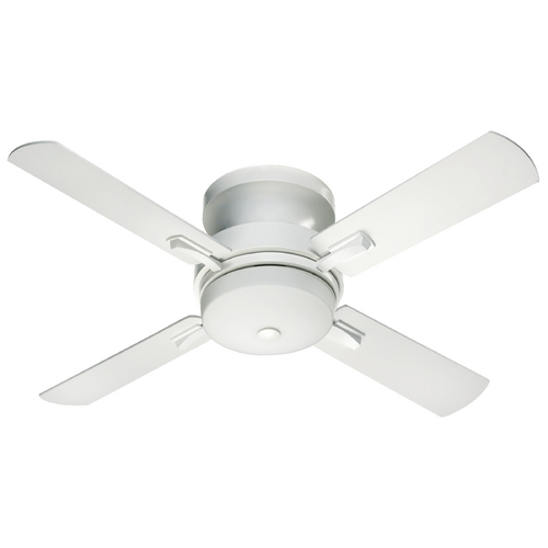 Quorum Lighting Quorum Lighting Davenport Studio White Ceiling Fan with Light 65524-8