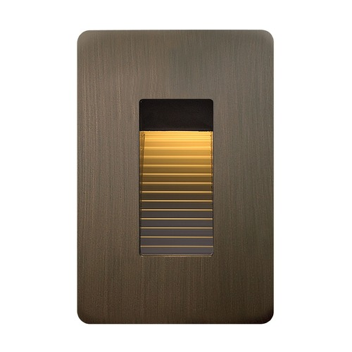 Hinkley Lighting Hinkley Lighting Luna Bronze LED Recessed Step Light 58504MZ