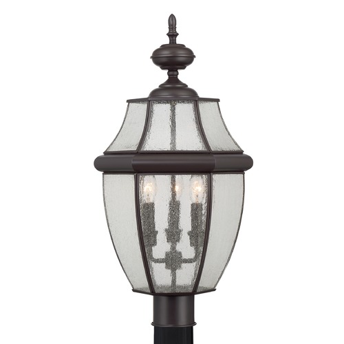 Quoizel Lighting Quoizel Newbury Medici Bronze Post Light NY9012Z
