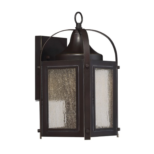 Savoy House Savoy House Lighting Formby English Bronze with Gold LED Outdoor Wall Light 5-330-213