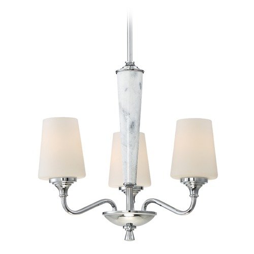 Designers Fountain Lighting Designers Fountain Lusso Chrome Mini-Chandelier 88783-CH
