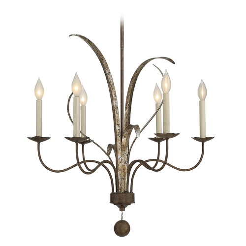 Savoy House Savoy House Lighting Mandolin Fiesta Bronze Chandelier 1-4020-6-124
