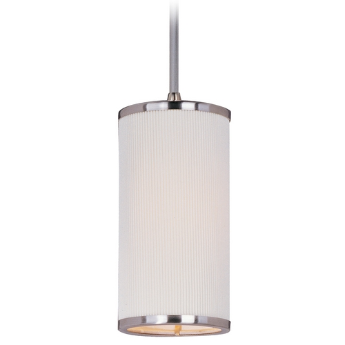 ET2 Lighting Modern Mini-Pendant Light with White Shade E95134-102SN