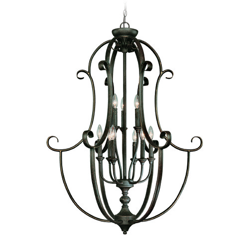 Jeremiah Lighting Jeremiah Barrett Place Mocha Bronze Pendant Light 24239-MB