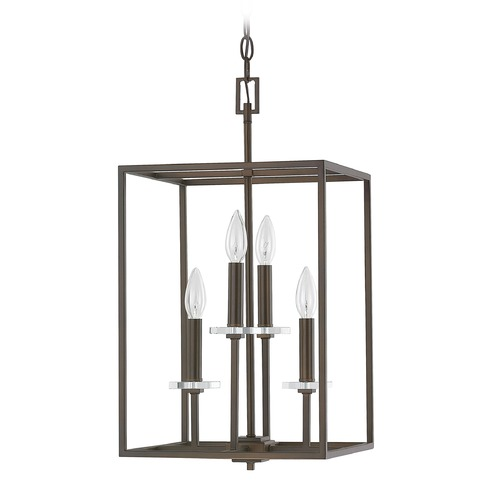 Capital Lighting Capital Lighting Morgan Burnished Bronze Pendant Light 7001BB