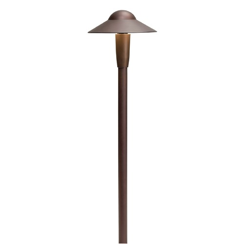 Kichler Lighting Kichler Lighting Bronzed Brass LED Path Light 15870BBR30R