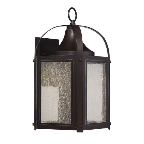 Savoy House Savoy House Lighting Formby English Bronze with Gold LED Outdoor Wall Light 5-331-213