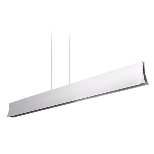 Holtkoetter Lighting Volare Brushed Aluminum LED Island Light 7925LEDBA