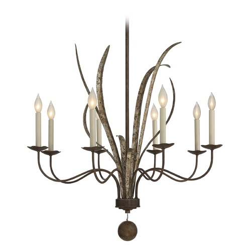 Savoy House Savoy House Lighting Mandolin Fiesta Bronze Chandelier 1-4021-8-124