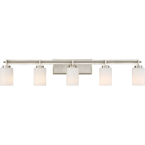 Quoizel Lighting Quoizel Lighting Taylor Brushed Nickel Bathroom Light TY8605BN