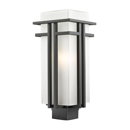 Z-Lite Z-Lite Abbey Outdoor Rubbed Bronze Post Light 550PHB-ORBZ