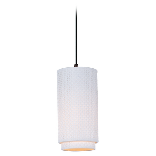 ET2 Lighting Modern Mini-Pendant Light with White Shade E95140-100OI