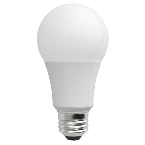 TCP Lighting LED A19 Light Bulb Medium Base 2700K 120V 40-Watt Equivalent Dimmable by TCP Lighting LED7A19D27K