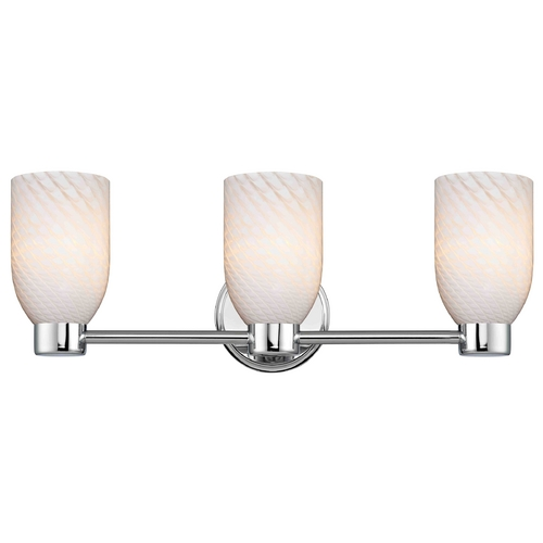 Design Classics Lighting Design Classics Aon Fuse Chrome Bathroom Light 1803-26 GL1020D