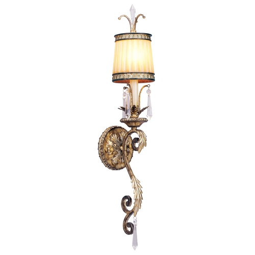 Livex Lighting Livex Lighting La Bella Vintage Gold Leaf Sconce 8811-65