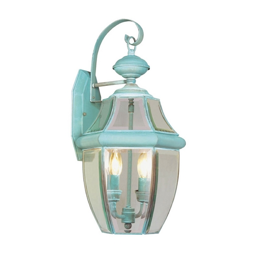 Livex Lighting Livex Lighting Monterey Verdigris Outdoor Wall Light 2251-06