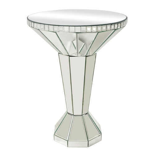 Sterling Lighting Mirrored Side Table 114-70