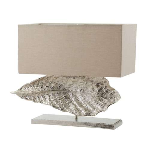 Dimond Lighting Dimond Lighting Nickel Table Lamp with Rectangle Shade 468-030