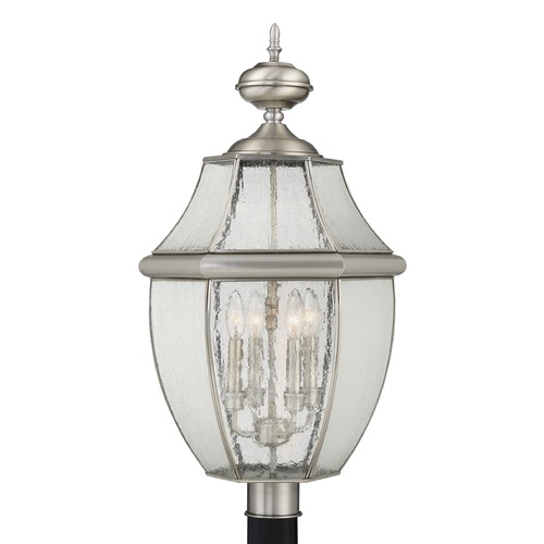 Quoizel Lighting Quoizel Newbury Pewter Post Light NY9016P