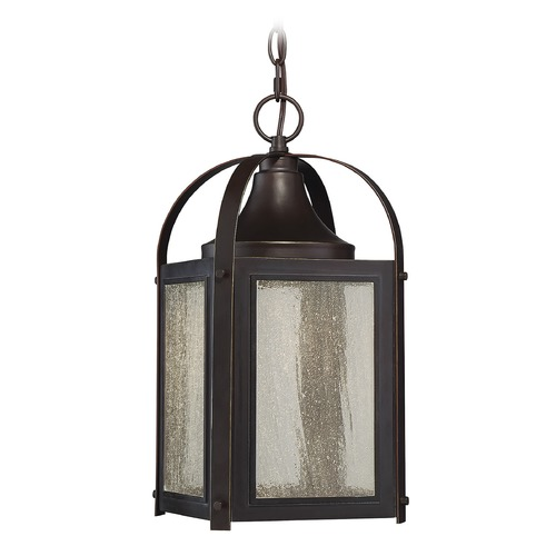 Savoy House Savoy House Lighting Formby English Bronze with Gold LED Outdoor Hanging Light 5-332-213